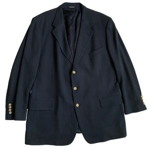 Tommy Hilfiger Men's 3 Button Black Sports Coat